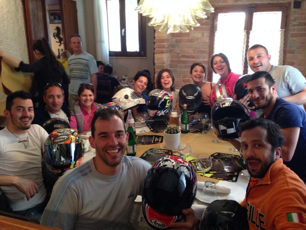 #daRossi w i bikers!!